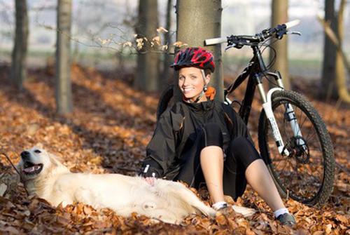 Faire du cani VTT ou du canicyclocross avec son chien