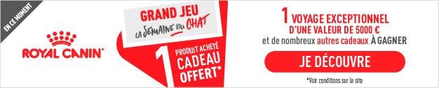 Semaine du Chat Royal Canin 10.2020