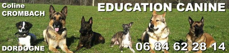 COLINE CROMBACH Education Canine en Dordogne*