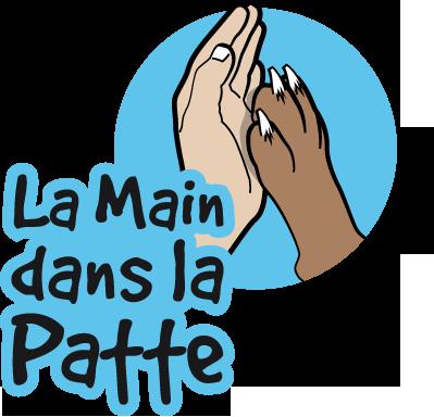 LA MAIN DANS LA PATTEL Educateur canin à Grenoble*