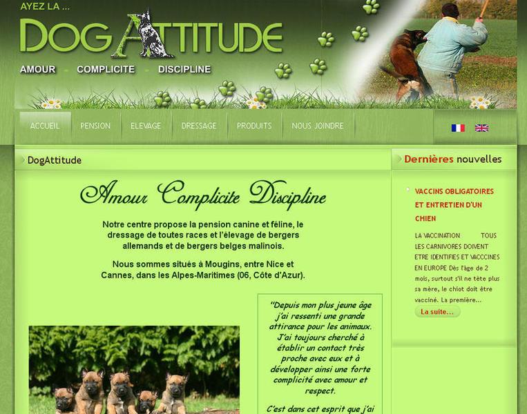 DOGATTITUDE 06 Pension animaux Dressage Elevage de chiens*