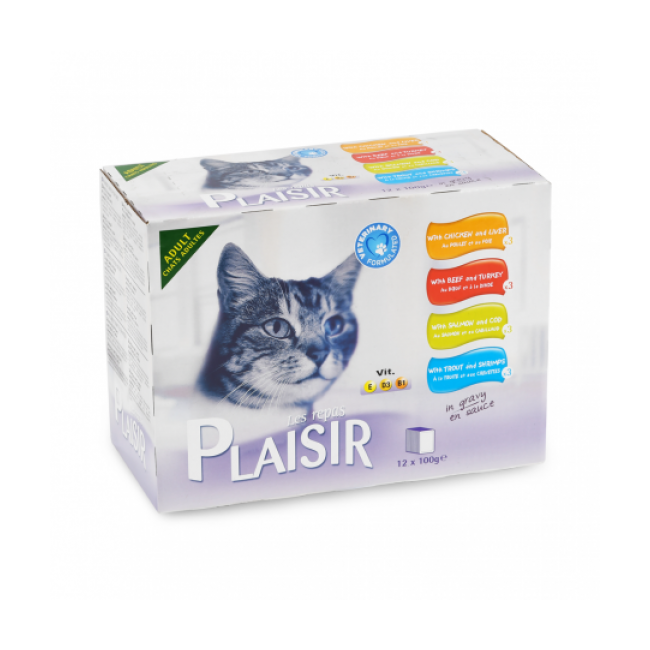 Éminces pour chat adulte Équilibre et Instinct 12 sachets de 100 g