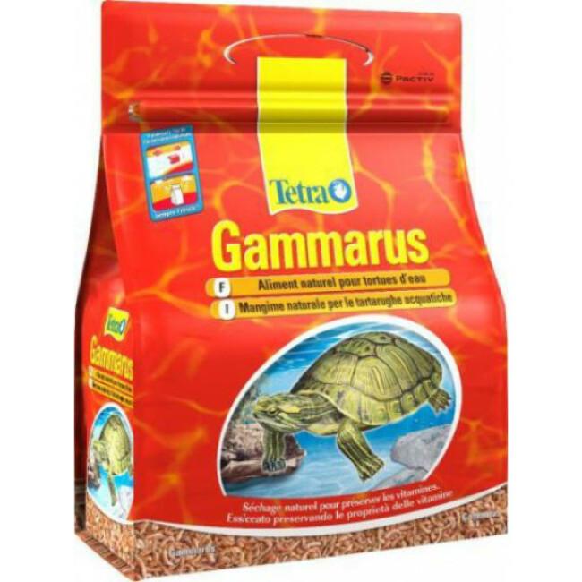 Alimentation naturelle complémentaire pour tortues d'eau Tetra Gammarus