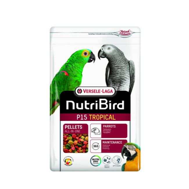 Alimentation NutriBird P15 Tropical Versele Laga pour oiseaux