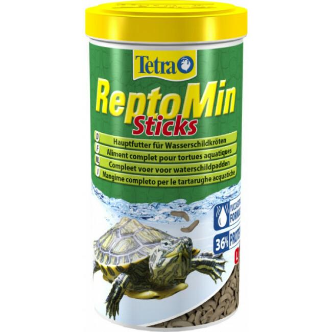 Alimentation premium équilibrée pour tortues aquatiques Tetra ReptoMin