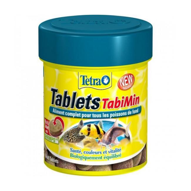 Alimentation Tablets TabiMin Tetra pour poissons