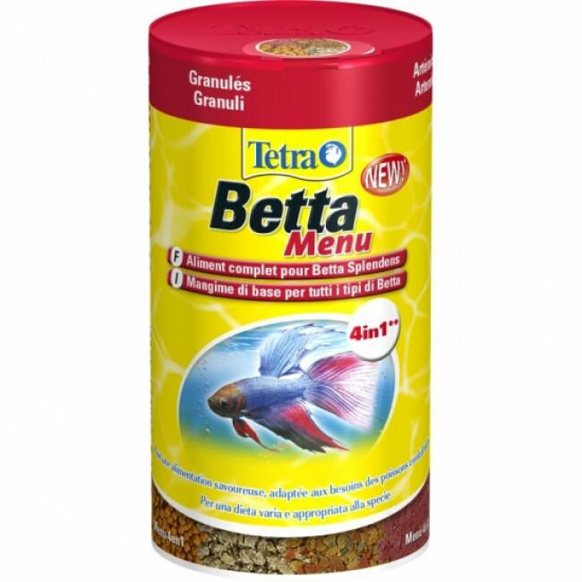 Alimentation Tetra Betta Menu 100 ml