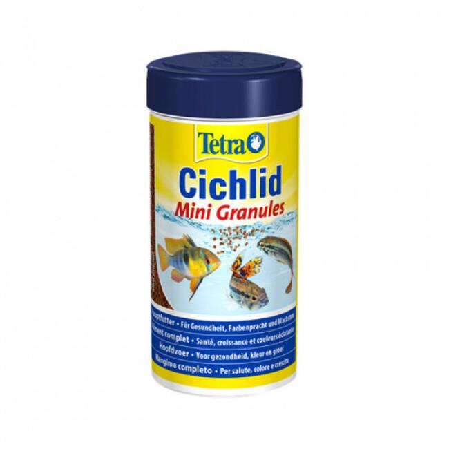 Alimentation Tetra Cichlid mini granulés 250 ml
