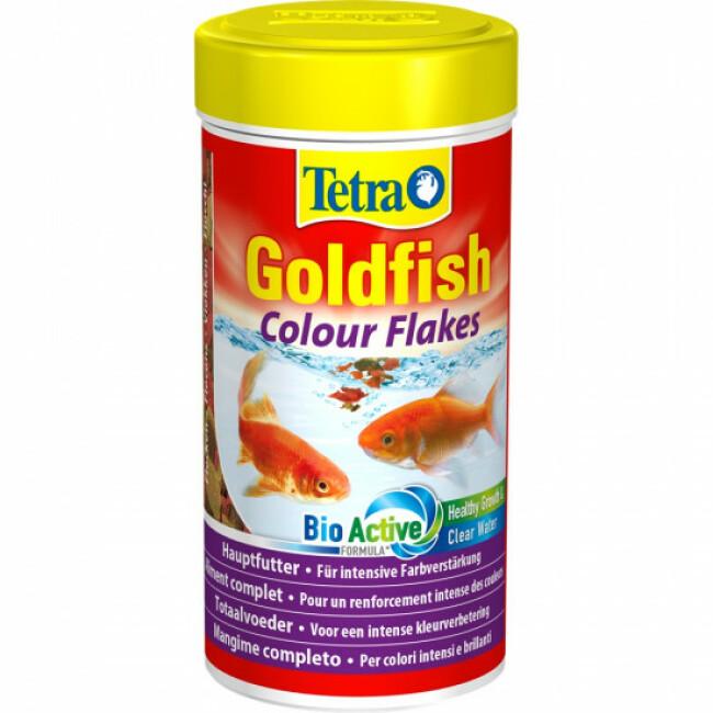 Alimentation Tetra Goldfish Colour pour poissons rouges