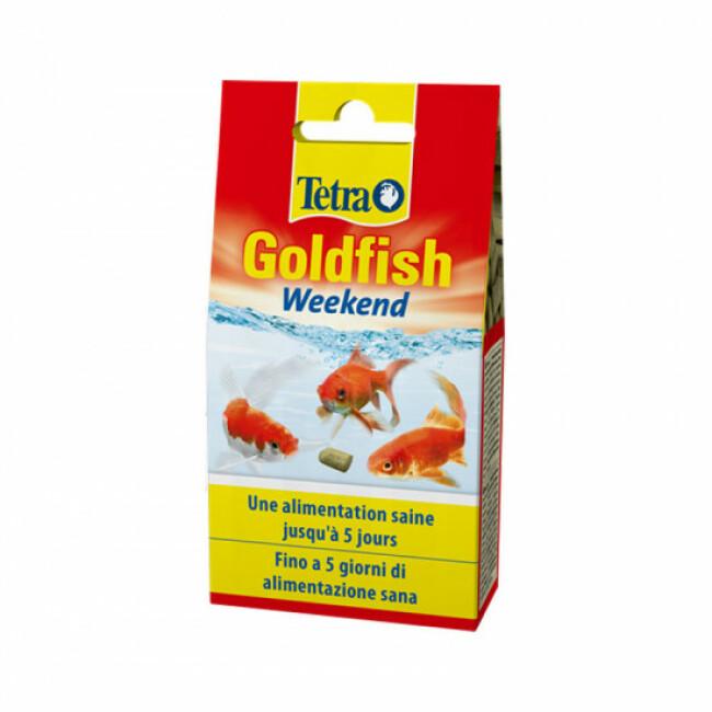 Alimentation Tetra Goldfish weekend 40 sticks pour poissons
