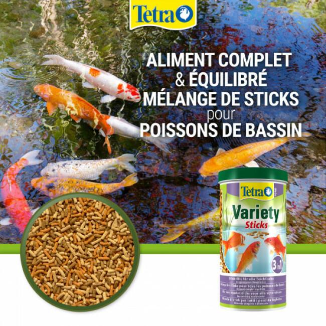 Alimentation Tetra Pond Variety Sticks