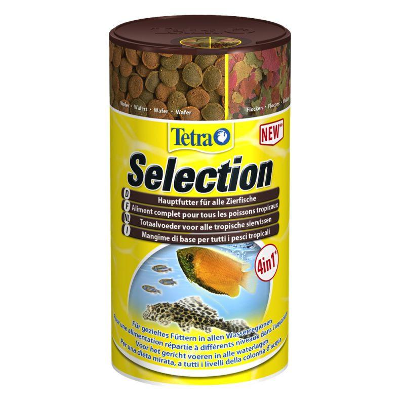 Alimentation Tetra Selection 4 en 1 pour poissons tropicaux