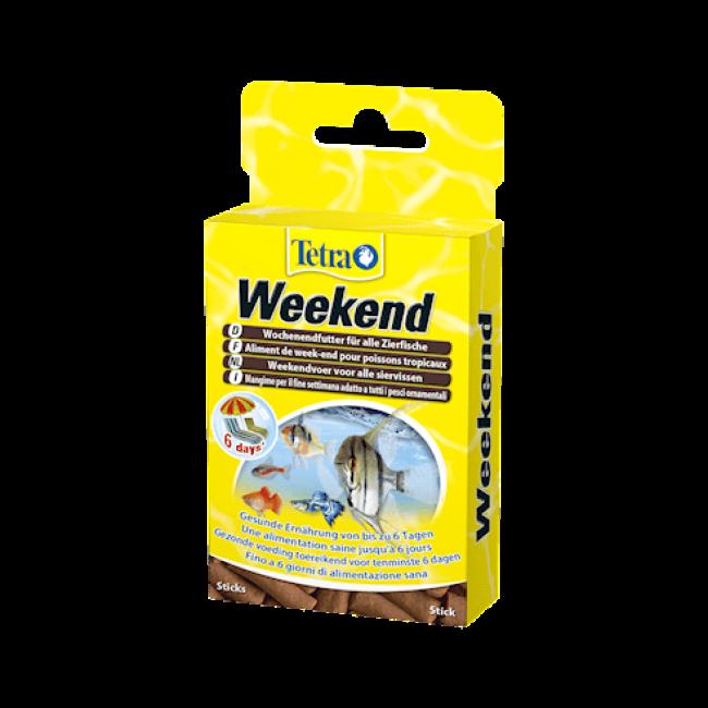 Alimentation TetraMin Weekend 20 sticks pour poissons