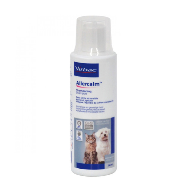 Allercalm shampoing Virbac pour chien et chat