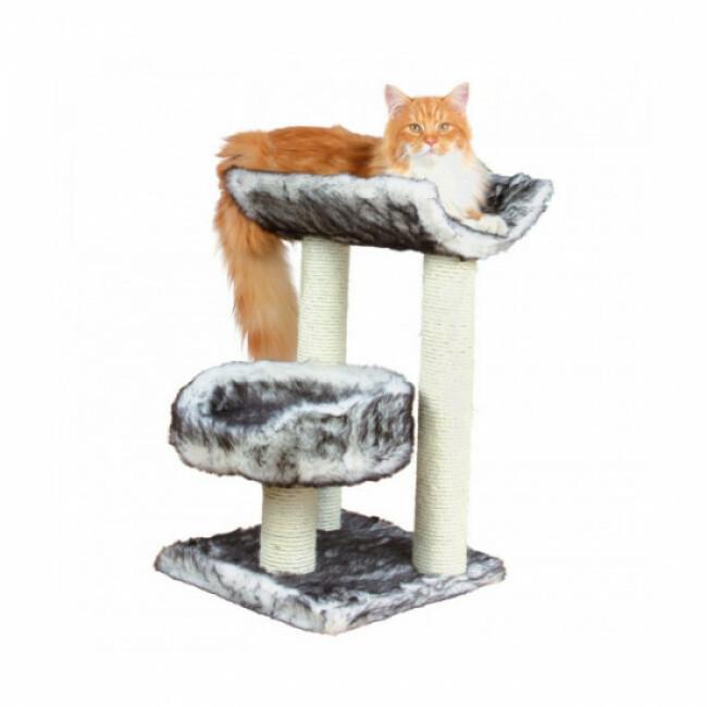 Arbre à chat blanc et noir Isaba Trixie hauteur 62 cm