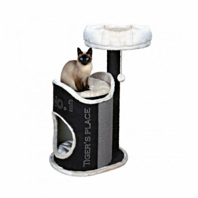 Arbre à chat blanc et noir Susana Tendance hauteur 90 cm Trixie