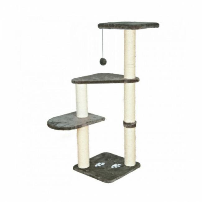Arbre à chat gris Altea Platinium Trixie hauteur 117 cm