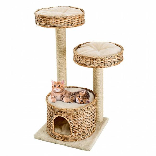 Arbre à chat Beige Amir hauteur 102,5 cm Ferplast