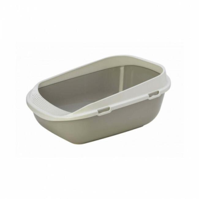 Bac à litière plastique pour chat ou chiot longueur 65 cm Savic