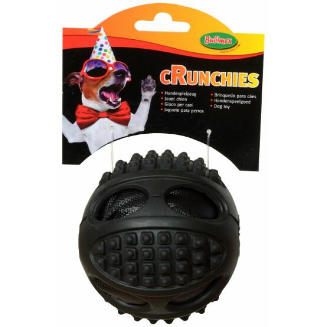 Balle chien Crunchies en TPR Bubimex