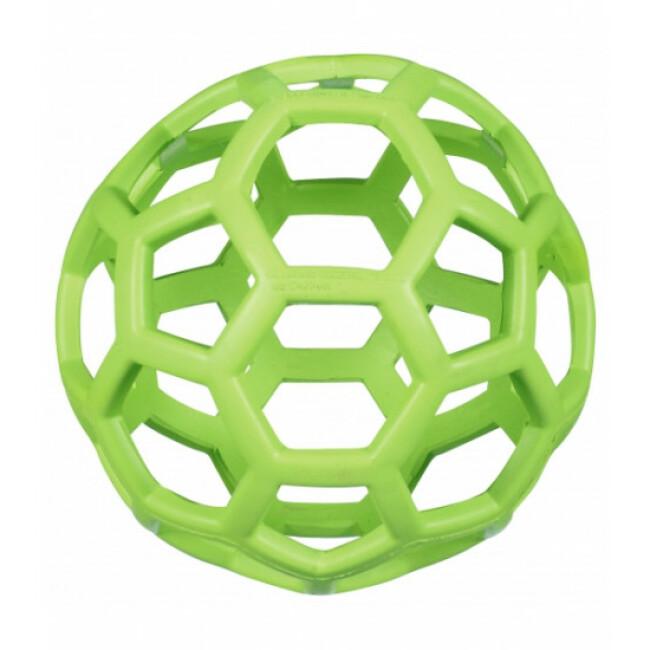Balle perforée JW Hol-ee Roller pour chien