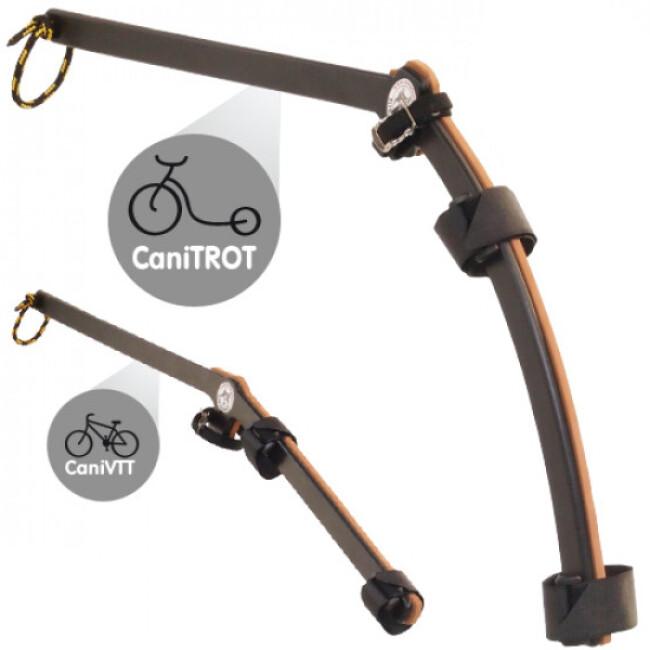 Barre de traction Rower-Trait pour Cani-VTT et Cani-TROT