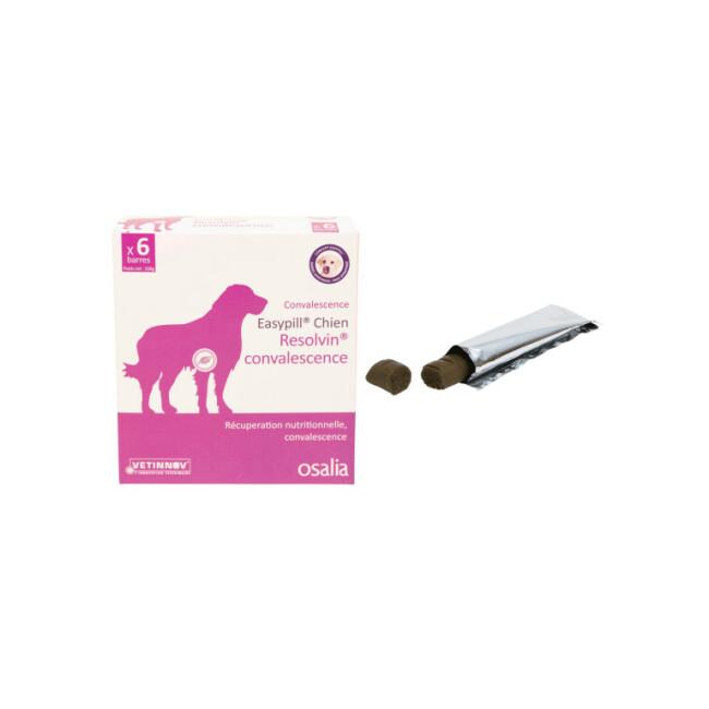 Barres Easypill Resolvin Convalescence pour chien