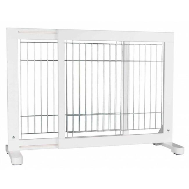 Barrière réglable pour chien en pin blanc Trixie