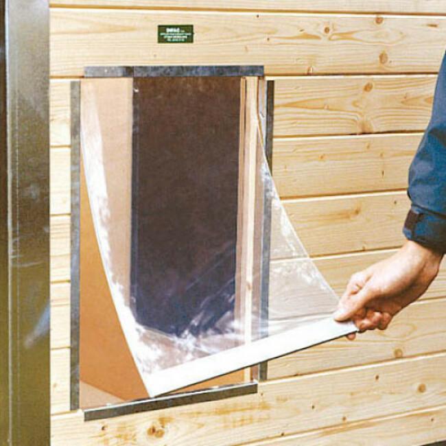 Battant souple pour niche en bois Confort et CPRS Pro