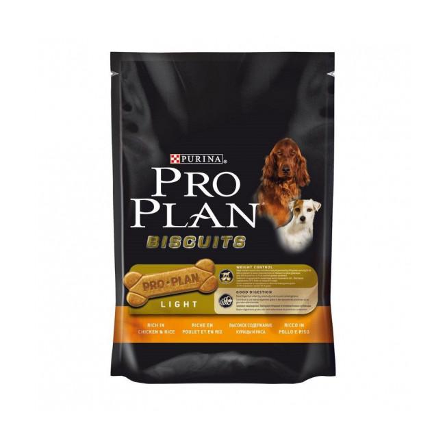 Biscuits pour chien au poulet Pro Plan Light sachet de 400 g