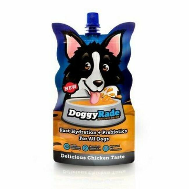 Boisson isotonique de réhydratation Doggyrade pour chien