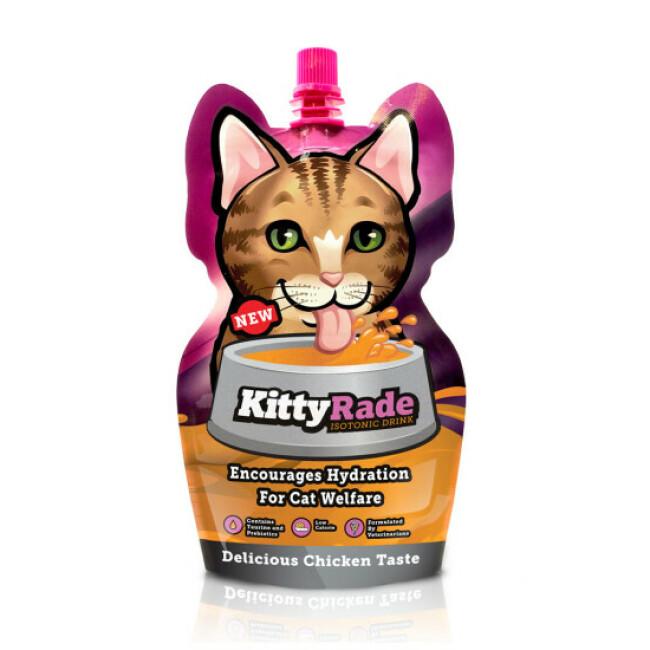 Boisson isotonique de réhydratation Kittyrade pour chat