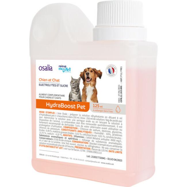 Boisson réhydratante Hydraboost Pet pour animal fragile ou sportif