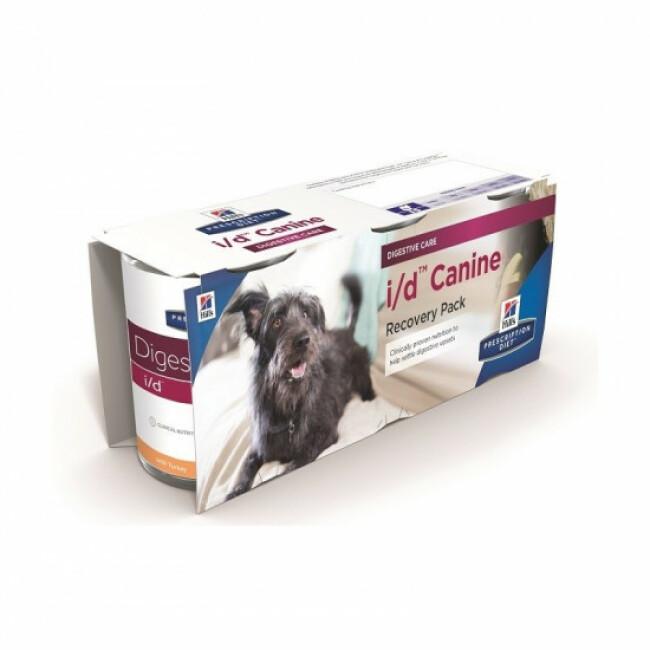 Boîte pour chien Hill's Prescription Diet Canine I/D Convalescence 12 Boîtes 360 g