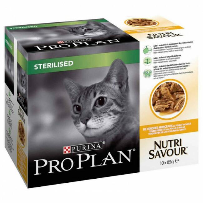 Boîtes pour chats Pro Plan Sterilised Poulet