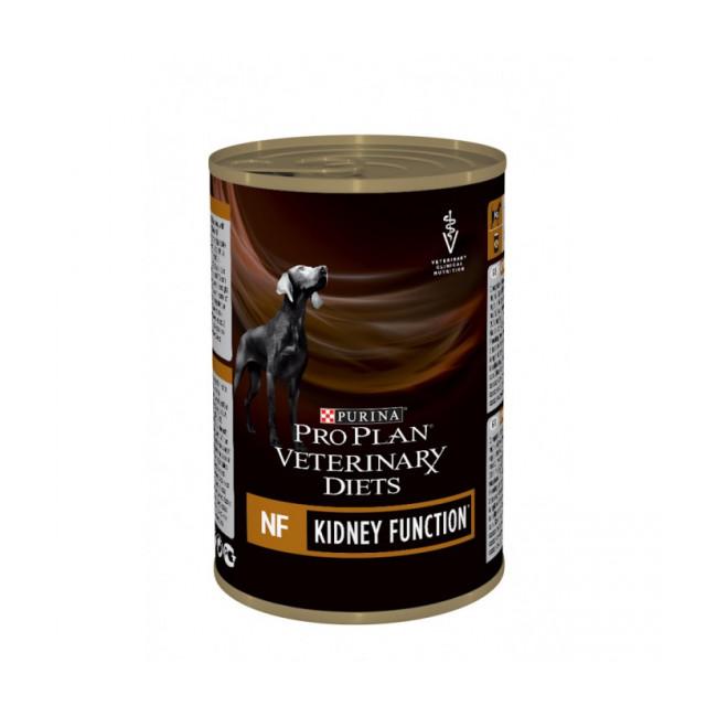 Boîtes Pro Plan Veterinary Diet NF Renal Function pour chiens 12 boîtes 400 g