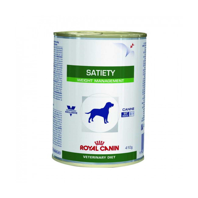 Boîtes Royal Canin Veterinary Diet Satiety Support pour chiens 12 boîtes 410 g