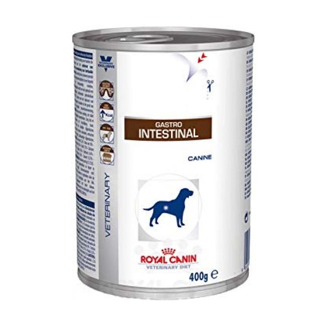 Boîtes Royal Canin Veterinary Diet Gastro Intestinal pour chiens 12 Boîtes de 400 g