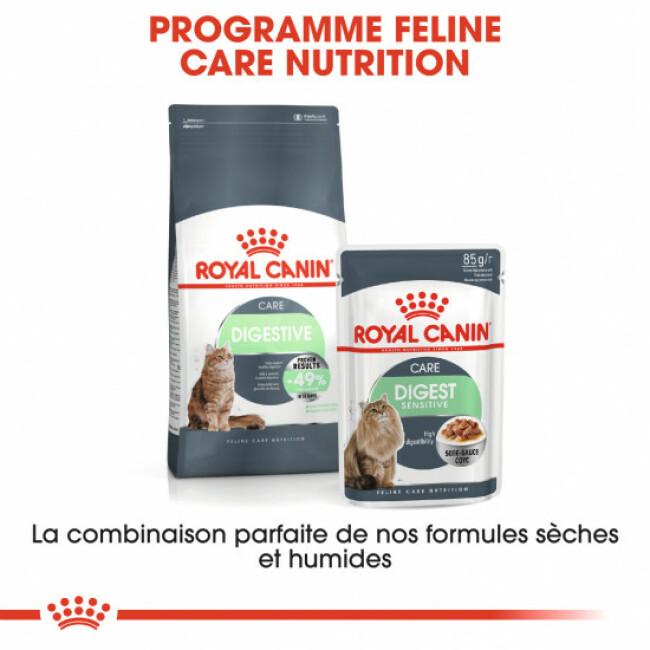 Bouchées en sauce pour chats Royal Canin Digest Sensitive 9 - 12 Sachets 85 g
