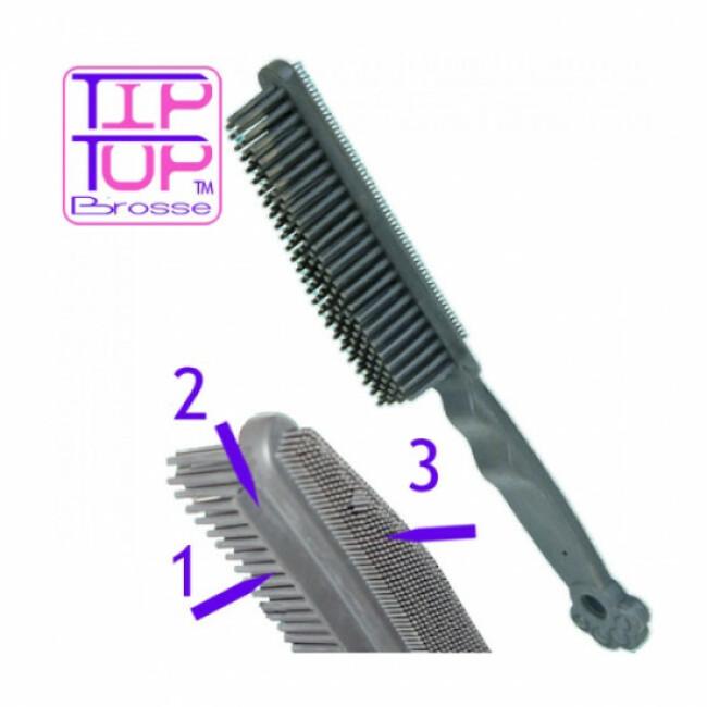 Brosse en caoutchouc ramasse poils pour nettoyage des textiles Trixie