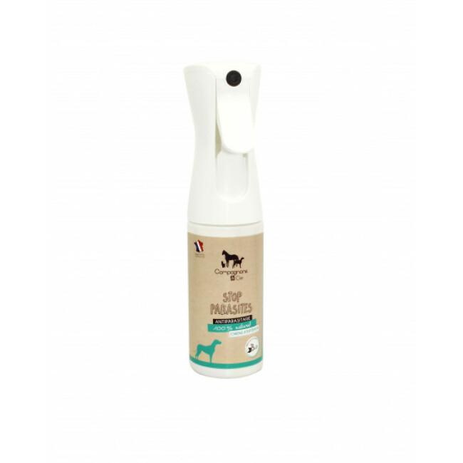Brumisateur antiparasitaires pour chien Stop Parasites 180 ml