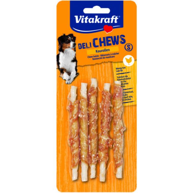 Bâtonnets à mâcher au poulet Deli Chews pour chien - lot de 5