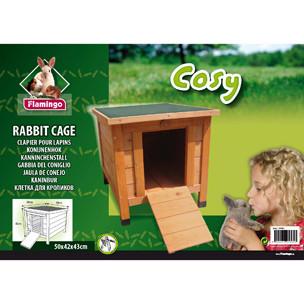 Cabane en bois Cosy pour lapin