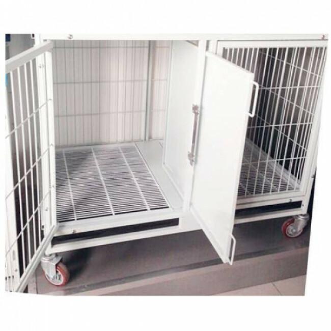 Cage de gardiennage modulable pour chien