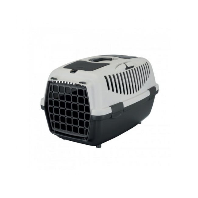 Cage de transport Capri pour chien et chat Friends On Tour gris