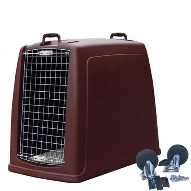 Cage de transport pour chien Dog Box Argo en profondeur