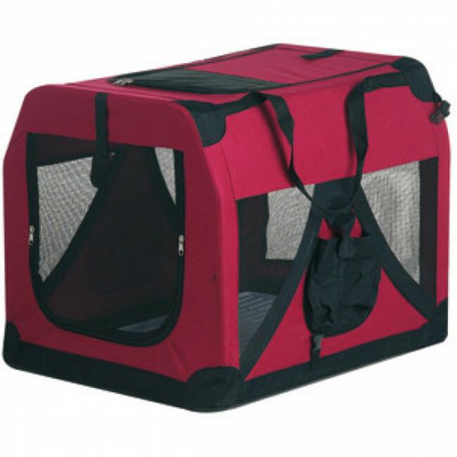 Cage de transport pour chien et chat pliable