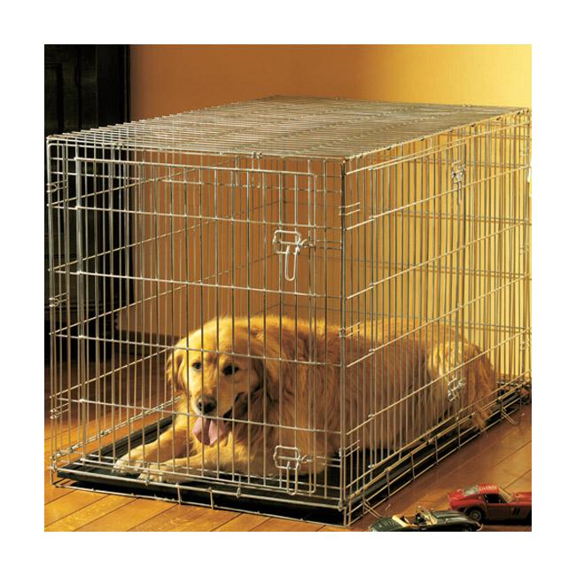 Cage pliable métallique pour chien ou chat