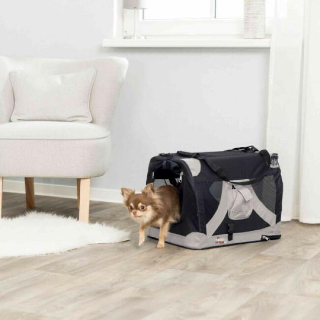 Cage polyvalente en tissu pour chien et chat T Camp De Luxe