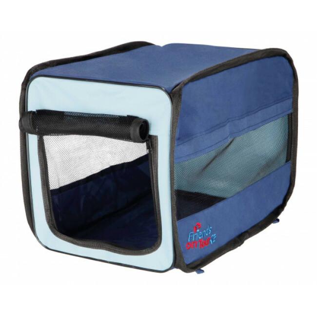 Cage polyvalente en tissu pour chien et chat T Camp Twister